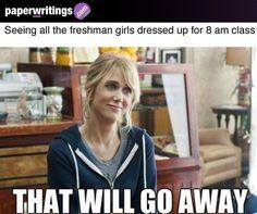 8 am classes…  #Humor #College #Meme