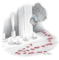Tatty Teddy Love petals
