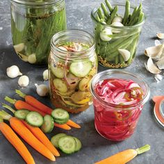 Recipe to Make The Best Pickles Quickly - tangy, sweet and all-purpose versions. Now we can keep a variety of super tasty pickles on hand!