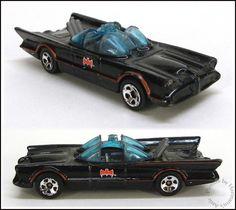 Hot Wheels, DC Comics, Batman, '66 Batmobile, Loose 1:64 Toy Car, Malaysia #HotWheels