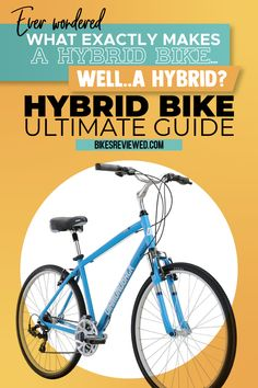 Are you wondering what exactly is a Hybrid Bike? Our MASSIVE Hybrid Bicycle guide will answer those two + many more questions. Cycling Tips, Cycling Workout, Exercise Workouts, Best Diets To Lose Weight Fast, Easy Weight Loss, Fitness Tips, Health Fitness, Fitness Motivation, Hybrid Bikes