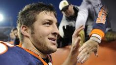 Not that I necessarily agree with his social lifestyle, I admire Tim Tebow for standing up for his religious beliefs.