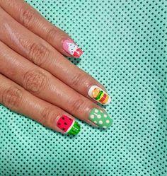 Pop Art Nail Art.