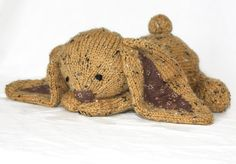 Hey, I found this really awesome Etsy listing at https://www.etsy.com/listing/164548933/hand-knit-bunny-rabbit-yellow-tweed