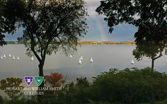 Rainbow over Seneca Lake