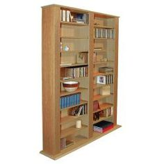 Buy Techstyle Multimedia CD / DVD Storage Shelves - Oak from our CD & DVD Storage range - Tesco.com
