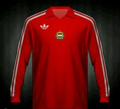 Hungary home shirt for the 1978 World Cup Finals.