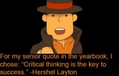 Layton Confessions << I WISH I HAD A SENIOR YEARBOOK NOW!