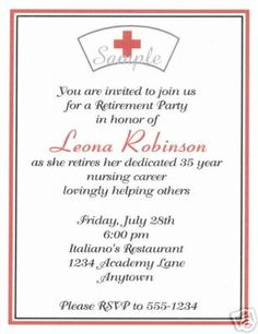 Pinning Ceremony Invitation Wording for luxury invitation example