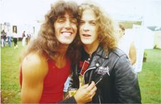 Anthrax = Frank Bello Metallica = Jason Newsted