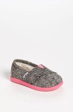 TOMS 'Classic - Karsen' Slip-On (Baby, Walker & Toddler) available at #Nordstrom