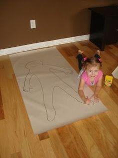 Preschool: All About Me/My body Theme