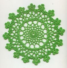 Mother and Daughter Doilies by American Thread Company - free pattern