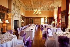 Reception room at Arley Hall Cheshire Breakfast Set, Wedding Breakfast, Wedding Reception Image, Wedding Venues, Arley Hall, Cheshire England, Reception Rooms, Wedding Gallery, Gardens