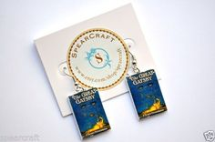 The Great Gatsby Book Charm Earrings / F Scott Fitzgerald / Book Jewelry #FScottFitzgerald #Bookearrings #greatgatsby #Gatsby #spearcraft #ebay #earrings #bookjewelry #thegreatgatsby #noveljewelry #books #reading #classic #classicnovels