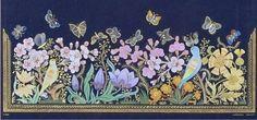 Çiçekler ve kelebekler (Katı') Dürdane Ünver