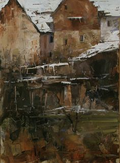 Art  painting  by the Hungarian  Tibor Nagy
