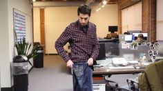 Humiliated Man Discovers Embroidery On His Jean Pockets