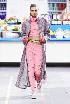 1. You can now wear sneakers to the grocery store. // 5 Ways Chanel's F/W Collection Will Change Your Life For The Better