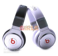 On Ear Beats Pro DJ Headphones Black White Headphones & Earphones Monster Headphones, Gaming Headphones, White Headphones, Beats Headphones, Over Ear Headphones, Best Headphones Under 100, Waterproof Headphones, Ipod