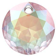 SWAROVSKI® 6430 Classic Cut Pendant (001 AB Crystal Aurore Boreale) Swarovski Crystals, Abs, Pendant, Classic, Innovation, Spring Summer, Northen Lights, News, Derby