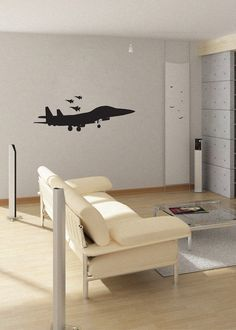 Fighter Jets  uBer Decals Wall Decal Vinyl Decor Art by UberDecals, $36.96