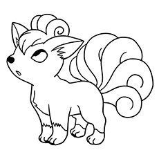 Pokemon Character Vulpix Coloring Pages Horse Coloring Pages, Pokemon Coloring Pages, Free Coloring Sheets, Colouring Pages, Printable Coloring Pages, Coloring Pages For Kids, Pokemon Party, Pokemon Birthday, Pokemon Go