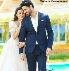 Divyanka and Vivek's wedding countdown has already begun and tomorrow is the wedding of television's most favourite Jodi. Bride-to-be Divyanka's wedding outfit is also ready, and it looks absolutely gorgeous! Take a look. Indian Wedding Poses, Indian Wedding Couple Photography, Pre Wedding Poses, Pre Wedding Shoot Ideas, Couple Photography Poses, Pre Wedding Photoshoot, Wedding Couples, Wedding Tips, Budget Wedding