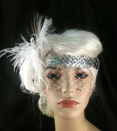 Flapper Headband,1920's headpiece, Art Deco Headband,Great Gatsby