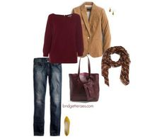 What to Wear with All the Burgundy You'll Find In the Stores This Fall - Bridgette Raes Style Expert