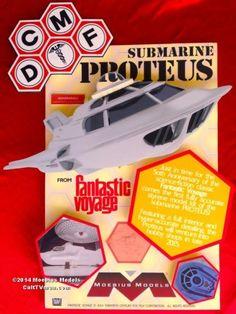 Moeibus Models announces the Proteus model kit for 2015 Plastic Model Kits, Plastic Models, Fantastic Voyage, Sci Fi Movies, Horror Movies, Hobby Shop, San Diego Comic Con, Figure Model, Model Building