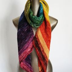 Pattern for Bifrost Scarf