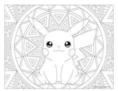Joyeux anniversaire Pikachu ! | Coloring pages | Coloring ...