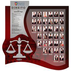 Placa de Formatura Direito FMN 2014.2