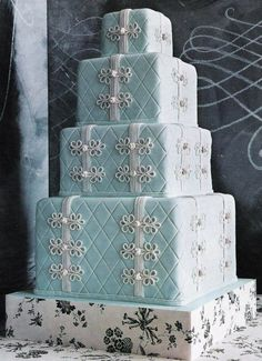Pastel Blue wedding inspiration from Facebook