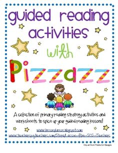 Are you looking for new and engaging activities to spicen up your guided reading lessons