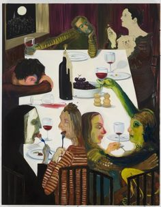 View Winter Solstice 2012 Dinner Party by Nicole Eisenman sold at Century & Contemporary Art Evening Sale on New York Auction 18 May Learn more about the piece and artist, and its final selling price Contemporary Art Daily, Contemporary Paintings, Figure Painting, Painting & Drawing, St Louis, Harper's Magazine, Expo, Winter Solstice, Art And Illustration