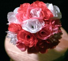 Pretty Crepe Paper Flowers