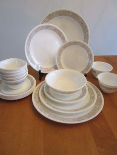 woodland brown corelle dishes - Google Search | Redwood | Pinterest ...