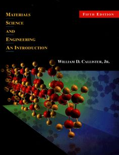 Materials Science And Engineering An Introduction 5th Edition