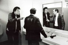 Quentin Tarantino and Steve Buscemi | Rare, weird & awesome celebrity photos