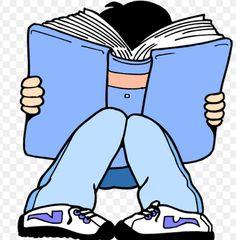 Yo leo libros en la clase de inglés.
