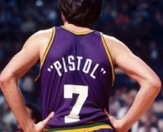 """Pistol"" Pete Maravich – NBA highlights (VIDEO)"