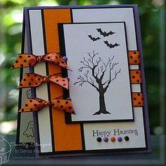 Halloween card or invitation idea