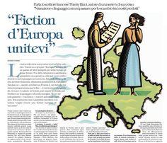 La fiction può essere la strada per fondare un linguaggio culturale europeo? Certo. Guarda Gomorra e #staisenzapensieri