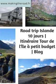 Voici mon itinéraire détaillé de mon road trip en Islande de 10 jours. Nous avons fait le tour de l'île à petit budget et dormi dans notre voiture. Découvrez mes conseils et astuces pour organiser votre voyage.#islande #roadtrip #voyage Destinations, Voyage Europe, Destination Voyage, Blog Voyage, Voici, About Me Blog, Tours, Inspiration, 10 Days