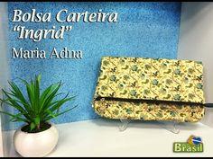 "Programa Arte Brasil - 28/01/2015 - Maria Adna - Bolsa Carteira ""Ingrid"""