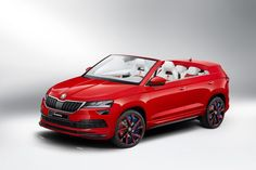 The Sunroq is a convertible Skoda Karoq designed by a team of Czech students. Do you like the concept of convertible SUVs? Volkswagen Golf Variant, Vw Volkswagen, Crossover, Convertible, Vw Scirocco, Vw Group, Bike News, Nissan Murano, Range Rover Evoque