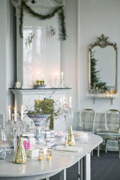 Dekoracje świąteczne Jette Frölich nadają wnętrzom delikatności i romantyzmu. #weranda #bozenarodzenie #dekoracjestolu