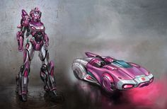 Arcee from Fall of Cybertron!  Pretty Sweet!  Image:WFCArcee.jpg